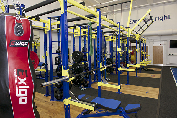 Strength and Conditioning suite at Walsall campus