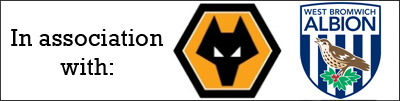 In association with Wolverhampton Wanderers FC and West Bromwich Albion FC